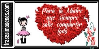Bonita tarjeta para facebook día de la madre Chile